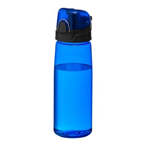 Capri sportflaska transparent blå | Inget reklamtryck | Inte tillgängligt | Inte tillgängligt