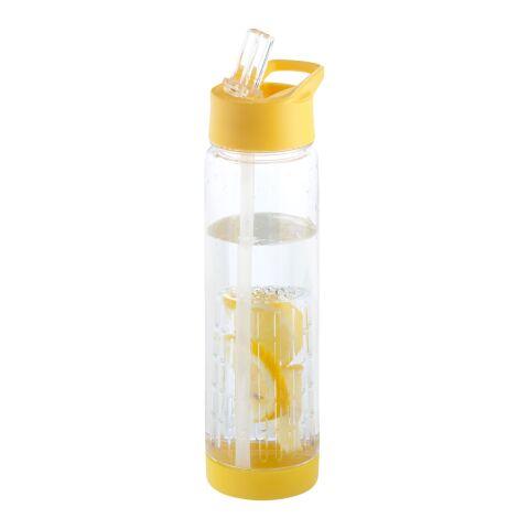 Tutti frutti flaska med fruktsil gul-transparent  | Inget reklamtryck | Inte tillgängligt | Inte tillgängligt