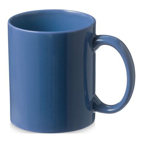 Santos keramikmugg Standard | blå | Inget reklamtryck | Inte tillgängligt | Inte tillgängligt