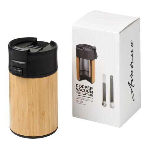 Arca 200 ml läckagesäker vakuumbambu-behållare i koppar