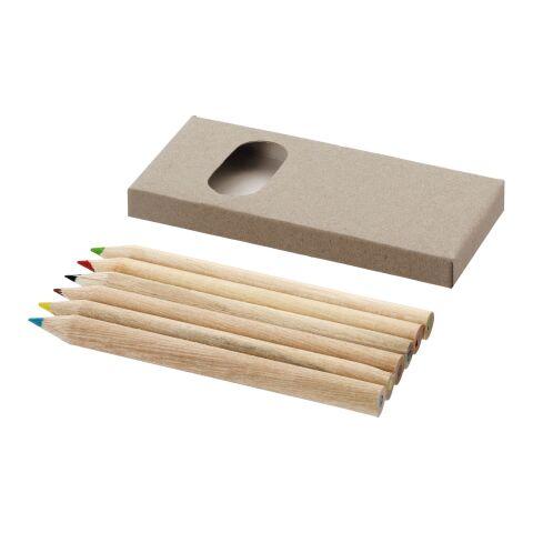 6-delars blyertspennset