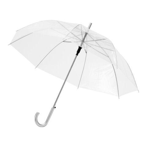 """23"""" transparent automatiskt paraply"""