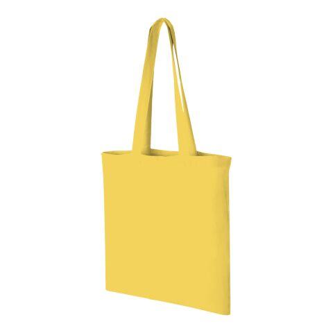 Carolina bärpåse i bomull gul | 4-färgat Silkscreentryck | baksidan | 280 mm x 310 mm