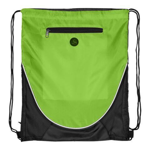 The Peek Drawstr C. bpack Lime limegrön-svart | Inget reklamtryck | Inte tillgängligt | Inte tillgängligt | Inte tillgängligt