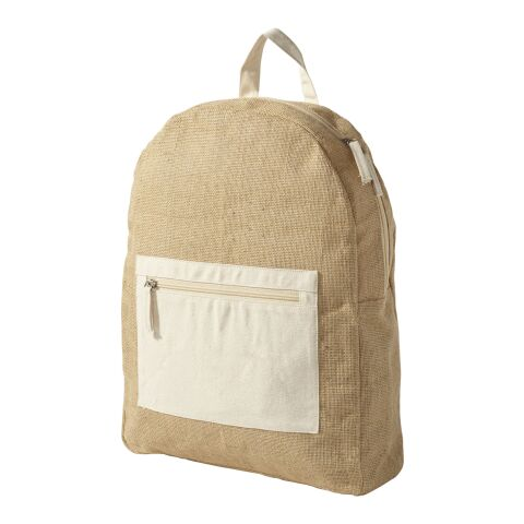 Jute Backpack naturel
