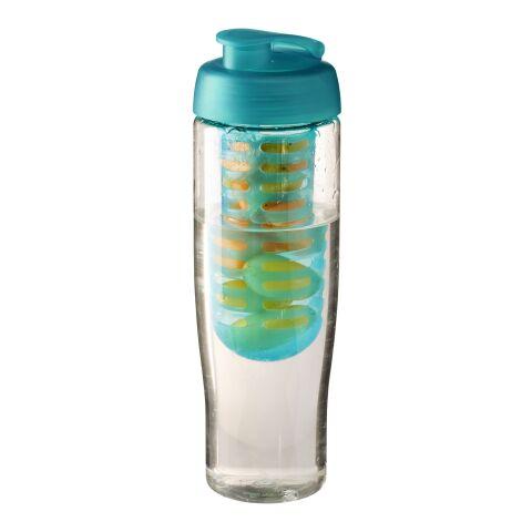 H2O Tempo® 700 ml sportflaska med uppfällbart lock och fruktkolv