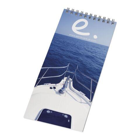 Desk-Mate® wire-o 1/3 A4 anteckningsblock vit-svart brons | 50 Blatt | Inget reklamtryck | Inte tillgängligt | Inte tillgängligt