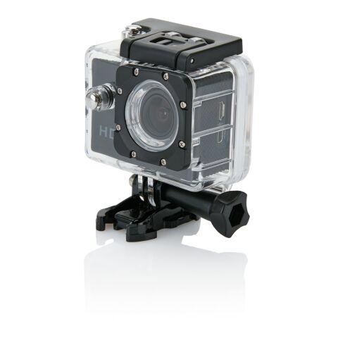 Actionkamera med 11 tillbehör