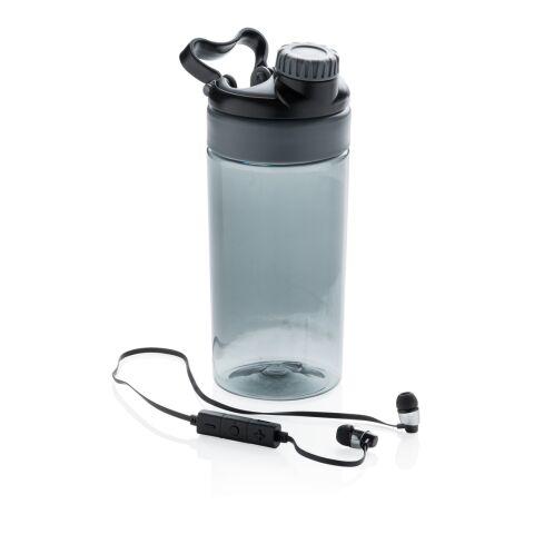 Läckagesäker flaska med trådlösa hörlurar